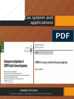 CRISPR- Cas System and Applications