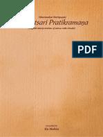 Samvatsari Pratikramana - English Interpretation of sutras with rituals - Compiled by Ila Mehta.pdf