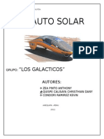 Auto Solar xD