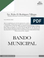 Bando Municipal Atizapan de Zaragoza