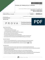 Fcc 2012 Trt 11 Regiao Am Analista Judiciario Area Judiciaria Prova Email