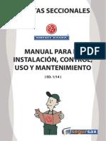 Manual de Puertas
