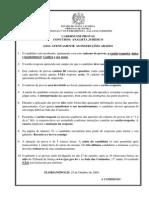 Tj Sc 2009 Tj Sc Analista Juridico Prova Email