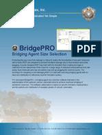 BridgePRO   Bridging Agent Size Selection