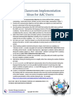 10 Classroom Implementation Ideas for AAC Users