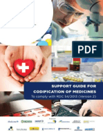 Support Guide for Codification of Medicines
