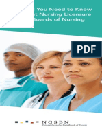 Nursing Licensure