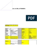 Indice de Cbr y Atterberg