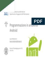 Seminar i o Android
