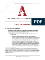 aaca full provisions
