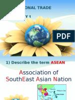 ASEAN International Trade Case Study 1