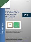 GPS-PA6B Datasheet R A07a