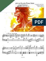 Attack on Titan Piano Suite