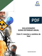 Solucionario guía práctica Calor II mezclas y cambios de fase 2014