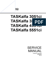 Kyocera Mita 3050 4050 5050 Service Manual | Image Scanner
