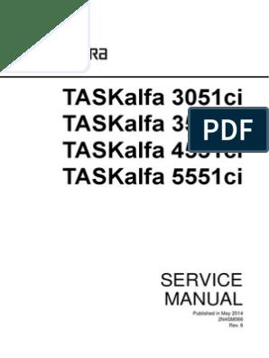 Kyocera TA-3051ci 3551ci 4551ci 5551ci Service Manual Rev 6