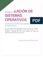Manual de Instalación de Sistemas Operativos