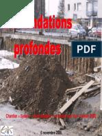 Fundaciones profundas  Diaporama