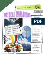 CanCioNero  MES DE LA BIBLIA 2015