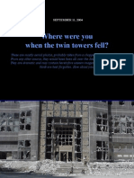 Military photos of the Twin Towers