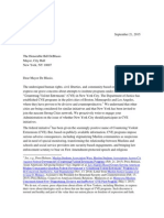 092115 Coalition Letter to Mayor Re CVE/Strong Cities