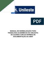 Manual de Normalizacao Para Trabalhos Academicos 2015