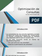 Optimización de Consultas Tema_2