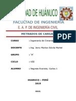 1era Entrega Memoria Descrip y Metrados