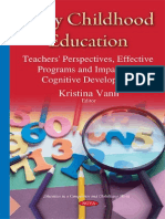 Early Childhood Education Teachers' Perspectives
