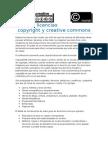 Reflexion y sintesis de las Licencias Copyright y Creative Commons