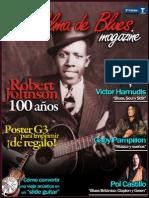 Revista Con Alma de Blues (Especial Robert Johnson 100 Años)