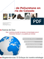 Sistemas de Poliuretano en La Industria Del Calzado
