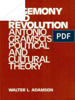 Adamson Hegemony and Revolution. Antonio Gramscis Political and Cultural Theory by Walter L. Adamson