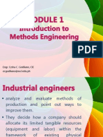 Introduction to Methods Engineering Copy