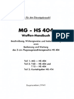 D.(Luft)T.6192 MG-HS 404 Teil 1-3, 1941