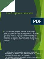 Las 8 Regiones Naturales