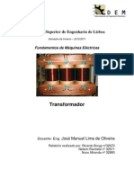 Relatorio FME Transformador