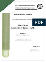 Practica 1 Instalacion Oracle