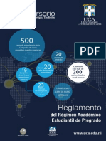 Reglamento Academico Pregrado Uca