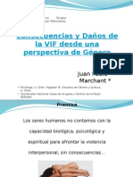 Consecuencias y Daños de La VIF Desde Una Perspectiva de Género v. 2010