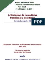 Articulacion de La Medicina