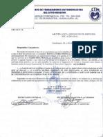 Asignacion de Servicios Del 00 a La Caseta Matriz