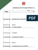 Principio Divino Programa Seminario de 1 Dia
