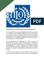 """Organizaciã""""n Internacional Del Trabajo"""