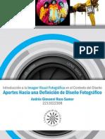 Introducción a la imagen visual fotográfica en el contexto del diseño