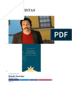 Dardo Scavino Entrevista en el suplemento Ni a Palos