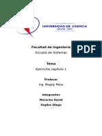 Morocho D - Urgiles DEjercicios Organizacion - Capitulo 1