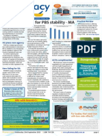 Pharmacy Daily for Wed 23 Sep 2015 - MA call for PBS stability, 6CPA complimented by PwC, New listing for RA, Health AMPERSAND Beauty and much more