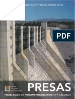Problemas de Predimensionamiento y Cálculo de Presas-Delgado & Delgado