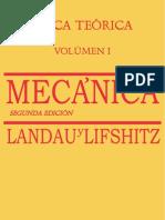 Vol 1 Mecánica. Landau & Lifchitz